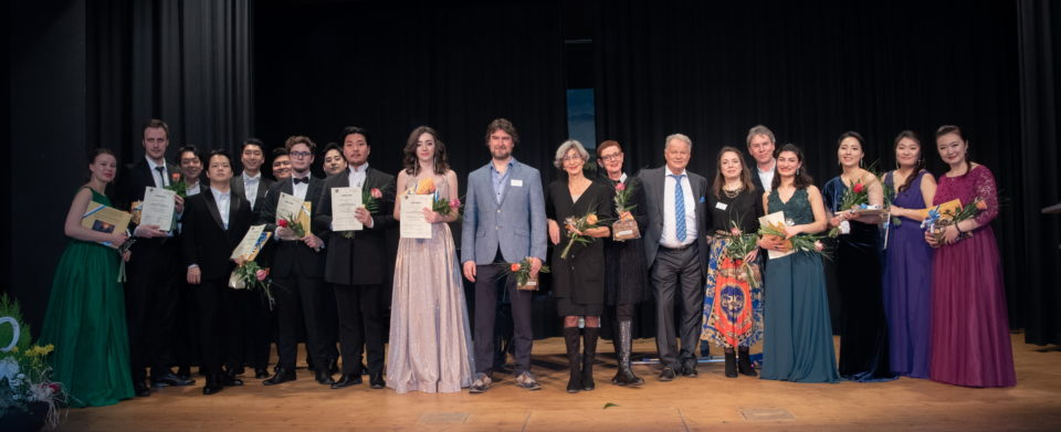 Finalisten und Jury des 12. Internationalen Gesangswettbewerbs Immling (c) Immling Festival - Nicole Richter