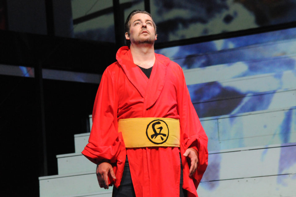 Thomas Paul als Calaf (Foto Verena von Kerssenbrock)