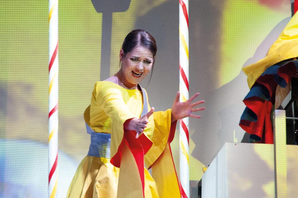 Trine Møller als Turandot (Foto Nicole Richter)