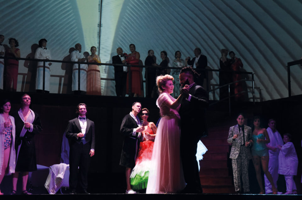 Ensemble `Die Fledermaus` (Foto Nicole Richter)
