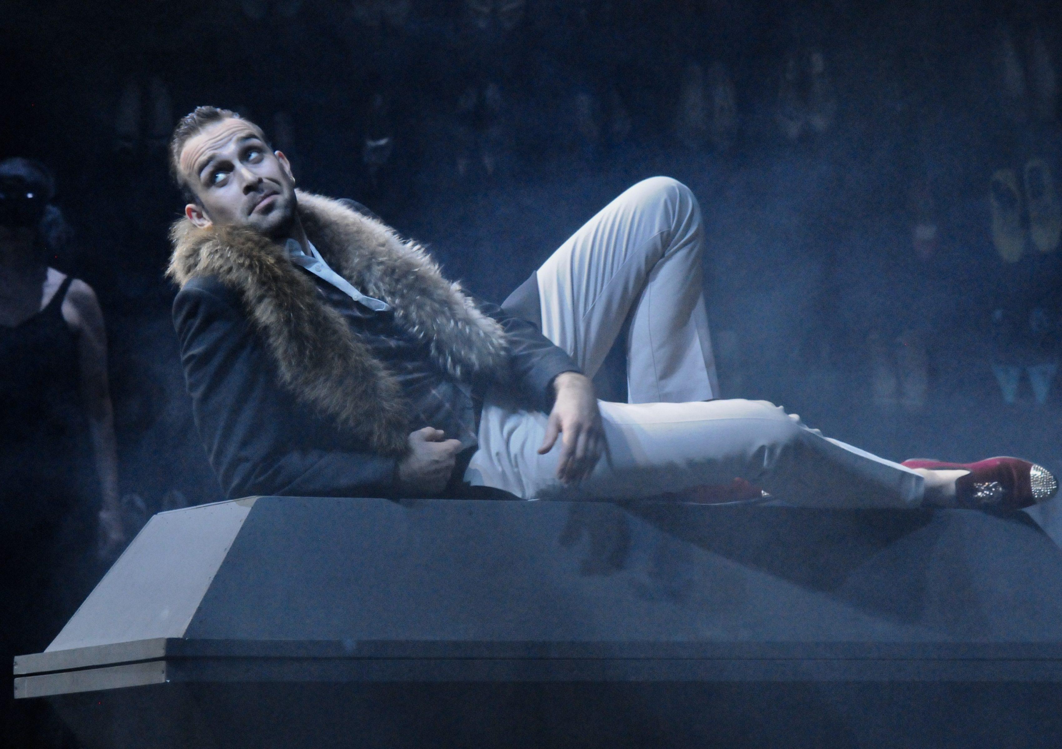 Modestas Sedlevičius als Don Giovanni (Foto Verena von Kerssenbrock)